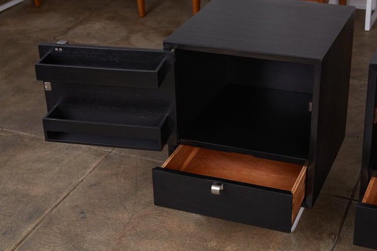 Pair of Nightstands by George Nelson for Herman Miller For Sale 3