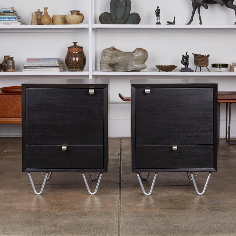 Pair of Nightstands by George Nelson for Herman Miller In Excellent Condition For Sale In Los Angeles, CA