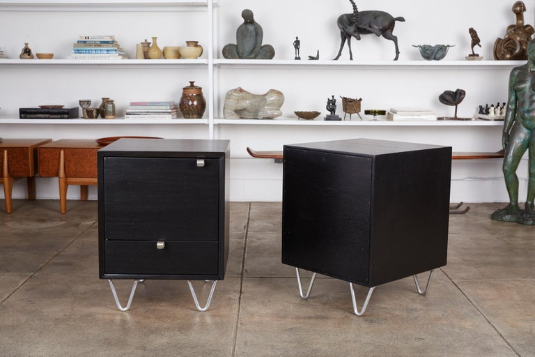 Mid-20th Century Pair of Nightstands by George Nelson for Herman Miller For Sale