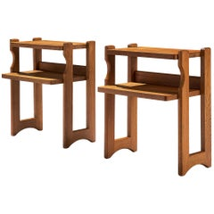 Pair of Nightstands by Guillerme et Chambron