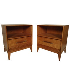 Pair of Nightstands by Heywood-Wakefield