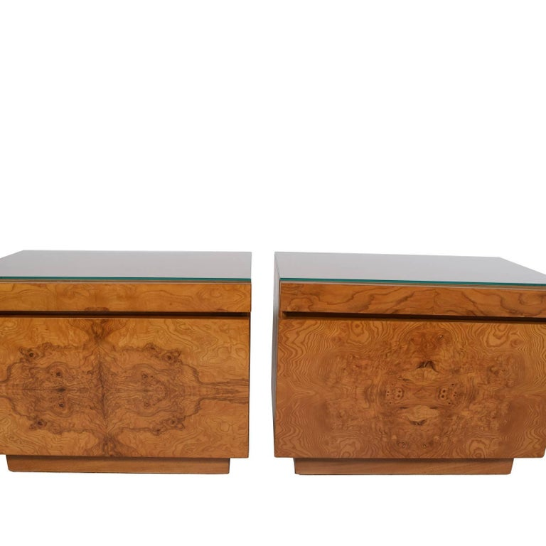 Pair Of Nightstands By Lane Furniture In Good Condition For Dallas Tx