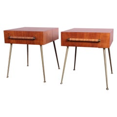 Pair of Nightstands by T.H. Robsjohn-Gibbings