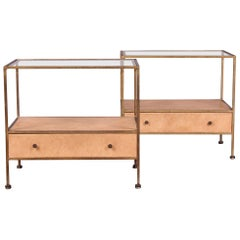 Pair of Nightstands in the Style of Paul McCobb