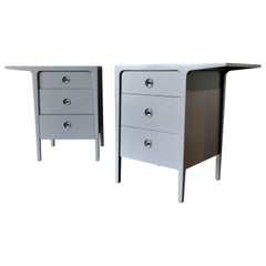 Pair of Nightstands or Cabinets by John Van Koert, circa 1960