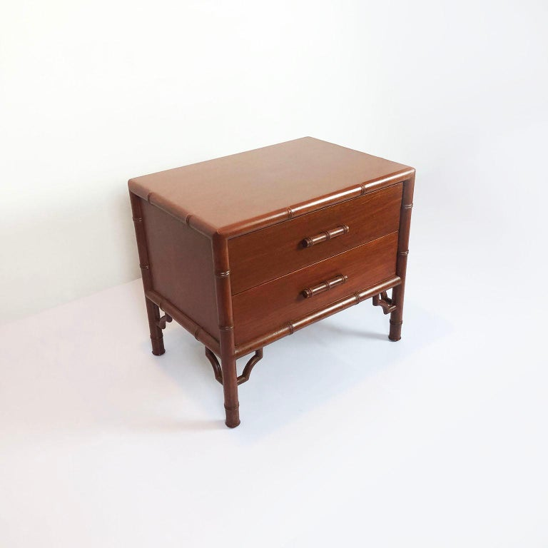 Mexican Pair of Nightstands/Side Tables by Frank Kyle For Sale
