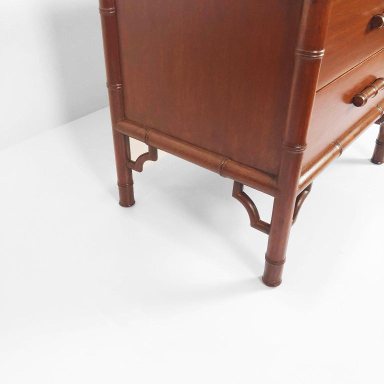 Pair of Nightstands/Side Tables by Frank Kyle In Good Condition For Sale In Mexico City, CDMX