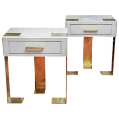 Pair of Nightstands Studio Glustin