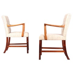 Pair Of Nordic Armchairs