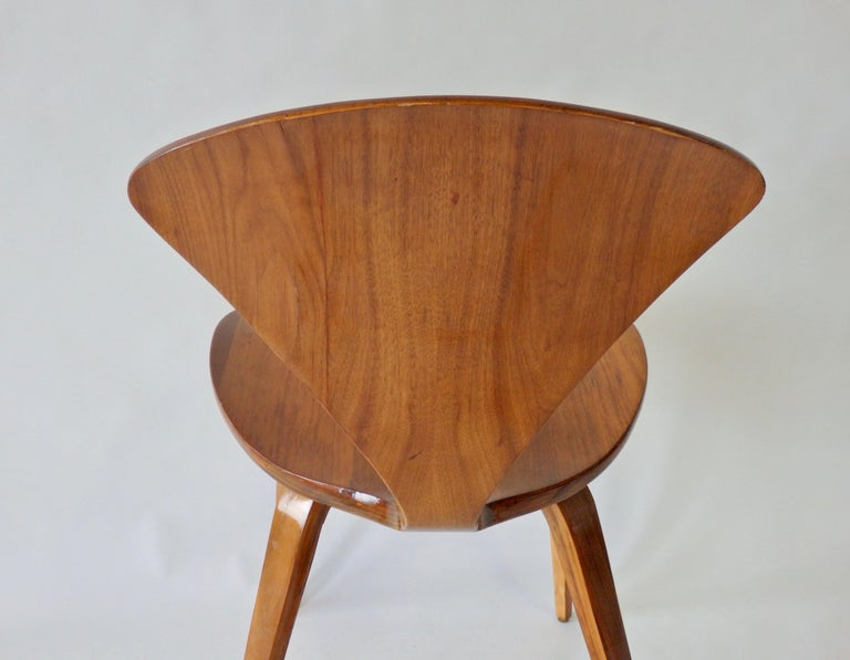 Pair of Norman Cherner for Plycraft Side Chairs For Sale 1