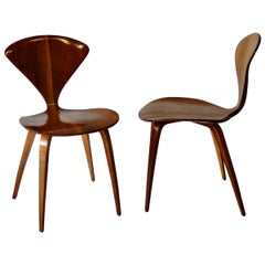 Pair of Norman Cherner for Plycraft Side Chairs