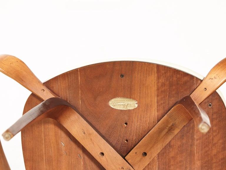 Pair of Norman Cherner Pretzel Armchairs, Plycraft, USA, 1960s 2