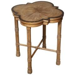 Pair of Oak Side Tables