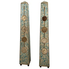 Pair of Obelisks, France, Early 19th Century