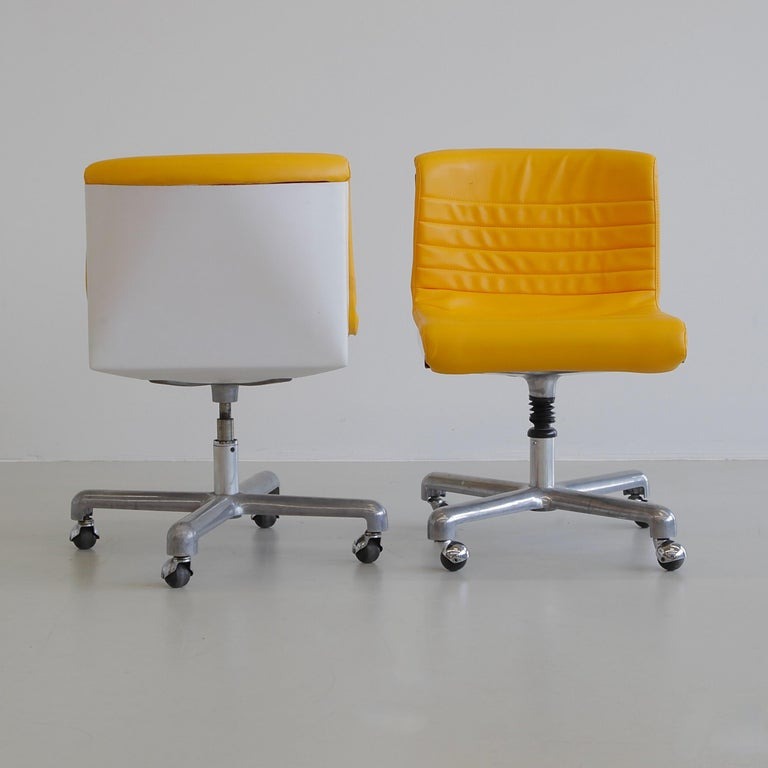 Modern Pair of Office Chairs by Ettore Sottsass & Hans Von Klier, 1969
