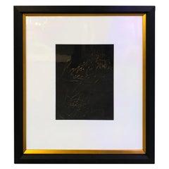 Pair of Oil on Paper Paintings by Francine Turk