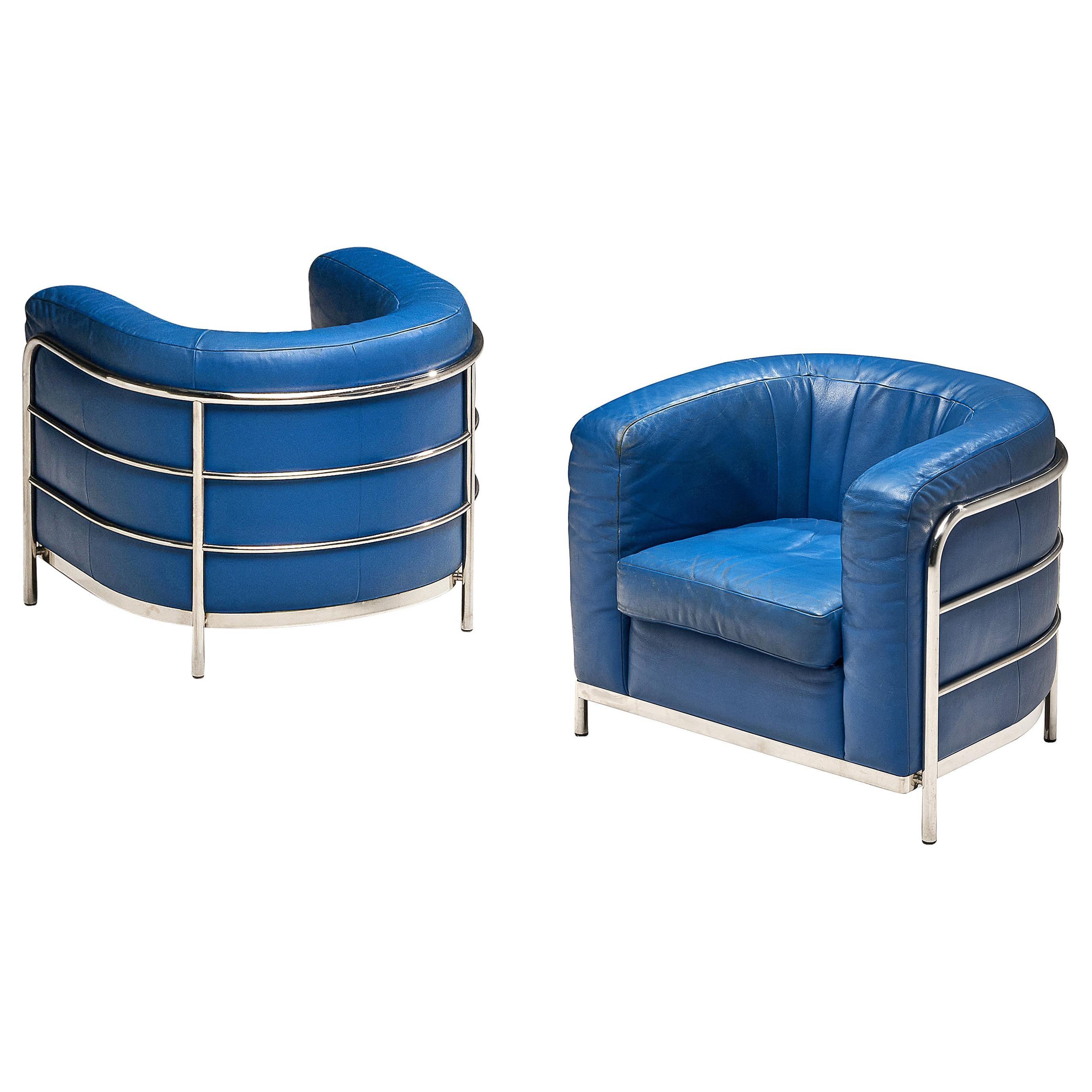 Pair of 'Onda' Lounge Chairs by De Pas D'Urbino and Lomazzi for Zanotta