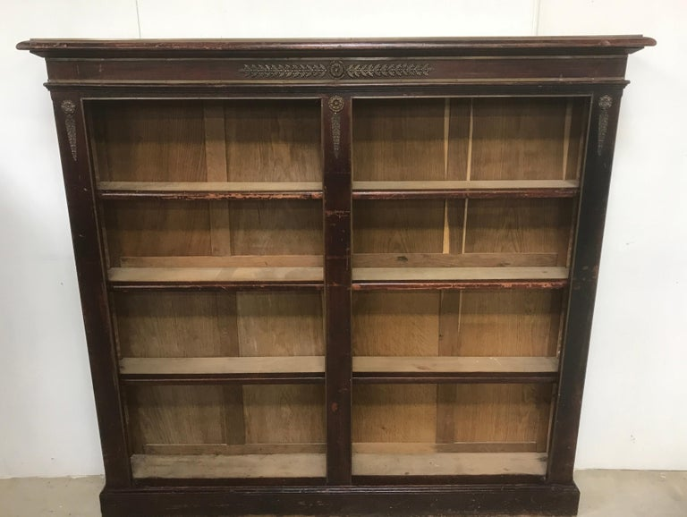 19th Century Pair of Open Bookcases For Sale
