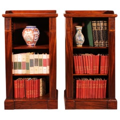 Pair of Open Bookcases from the Beginning of the 19th Century, William IV