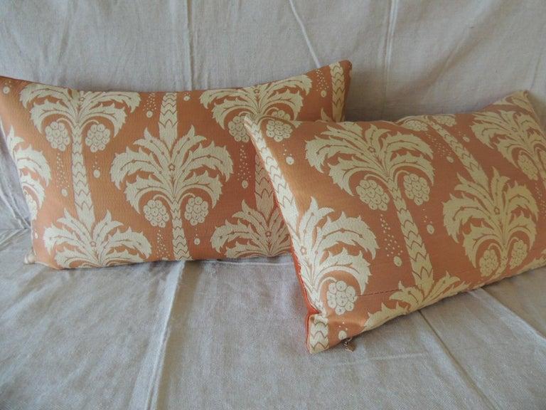 Bohemian Pair of Orange and Natural