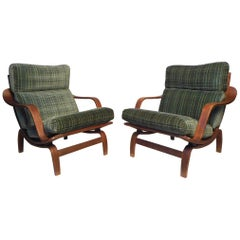 "Pair of ""Orbit"" Lounge Chairs by Charlton"