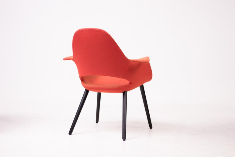 Pair of Organic Chairs by Charles Eames & Eero Saarinen For Sale 1