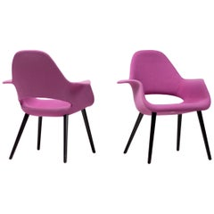 Pair of Organic Chairs by Charles Eames & Eero Saarinen
