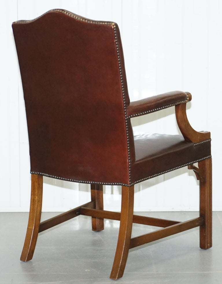 Pair of Original 1930s Hillcrest Vintage Brown Leather ...