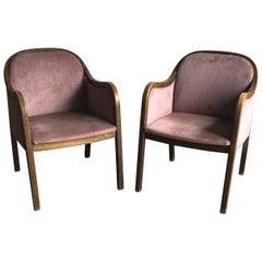 Pair of Original Art Deco Style Armchairs