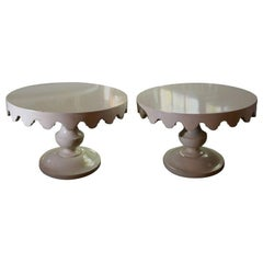 Pair of Original Dorothy Draper Tables