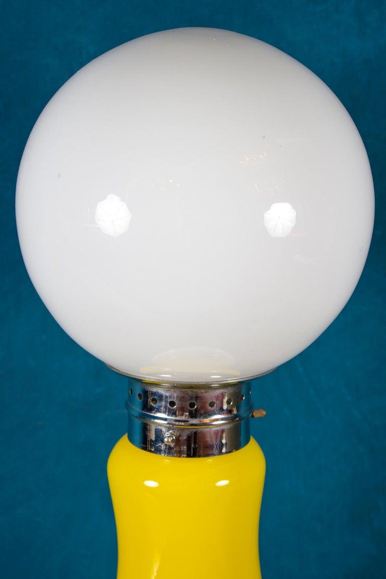 20th Century Pair of Original Mazzega Table Lamps 1960' For Sale