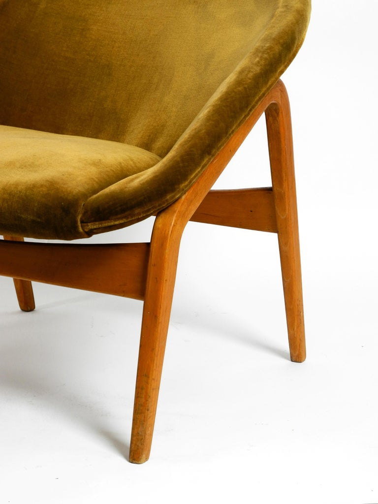 Pair of Original Midcentury Lounge Chairs by Hartmut Lohmeyer for Artifort For Sale 3