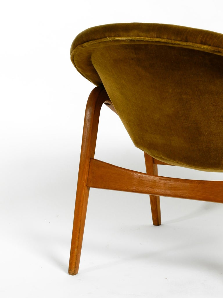 Pair of Original Midcentury Lounge Chairs by Hartmut Lohmeyer for Artifort For Sale 4