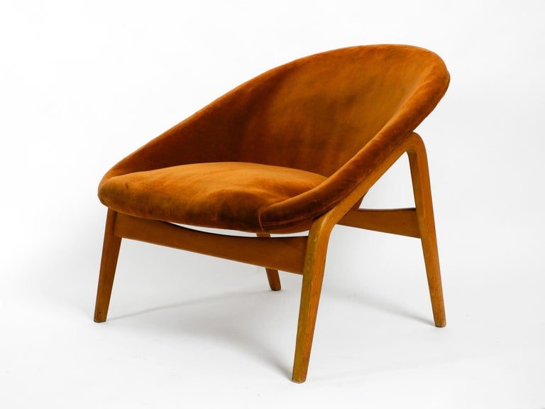 Pair of Original Midcentury Lounge Chairs by Hartmut Lohmeyer for Artifort For Sale 7