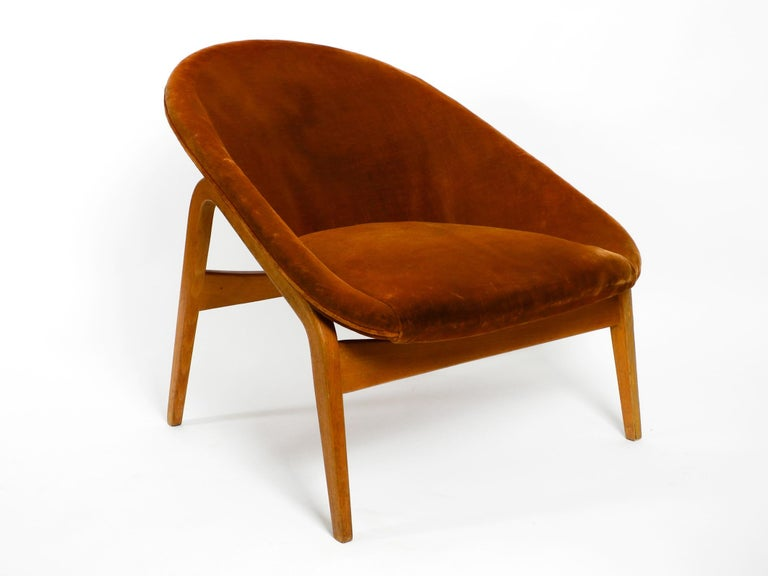 Pair of Original Midcentury Lounge Chairs by Hartmut Lohmeyer for Artifort For Sale 8