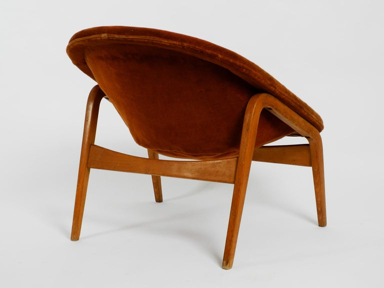 Pair of Original Midcentury Lounge Chairs by Hartmut Lohmeyer for Artifort For Sale 9
