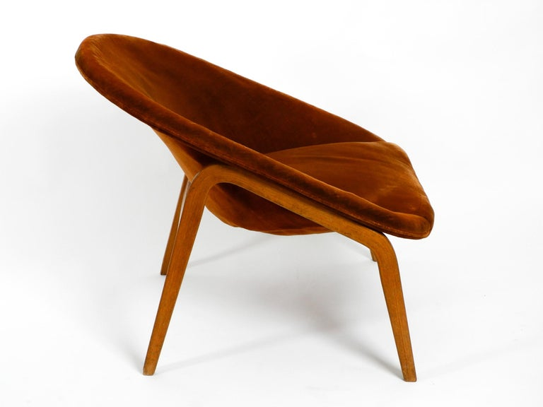Pair of Original Midcentury Lounge Chairs by Hartmut Lohmeyer for Artifort For Sale 10