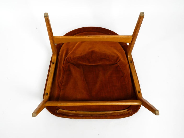 Pair of Original Midcentury Lounge Chairs by Hartmut Lohmeyer for Artifort For Sale 11