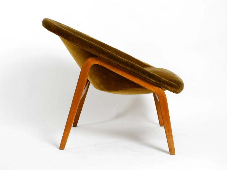 Pair of Original Midcentury Lounge Chairs by Hartmut Lohmeyer for Artifort For Sale 1