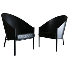 Pair of Original Pratfall Lounge Chairs by Philippe Starck for Aleph Ubik