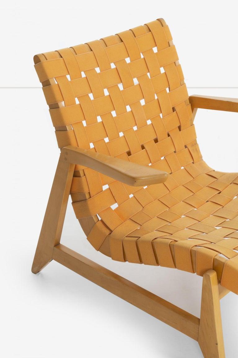 Pair of Rare Historical Original Ralph Rapson Greenbelt Lounge Chairs 1945 For Sale 3