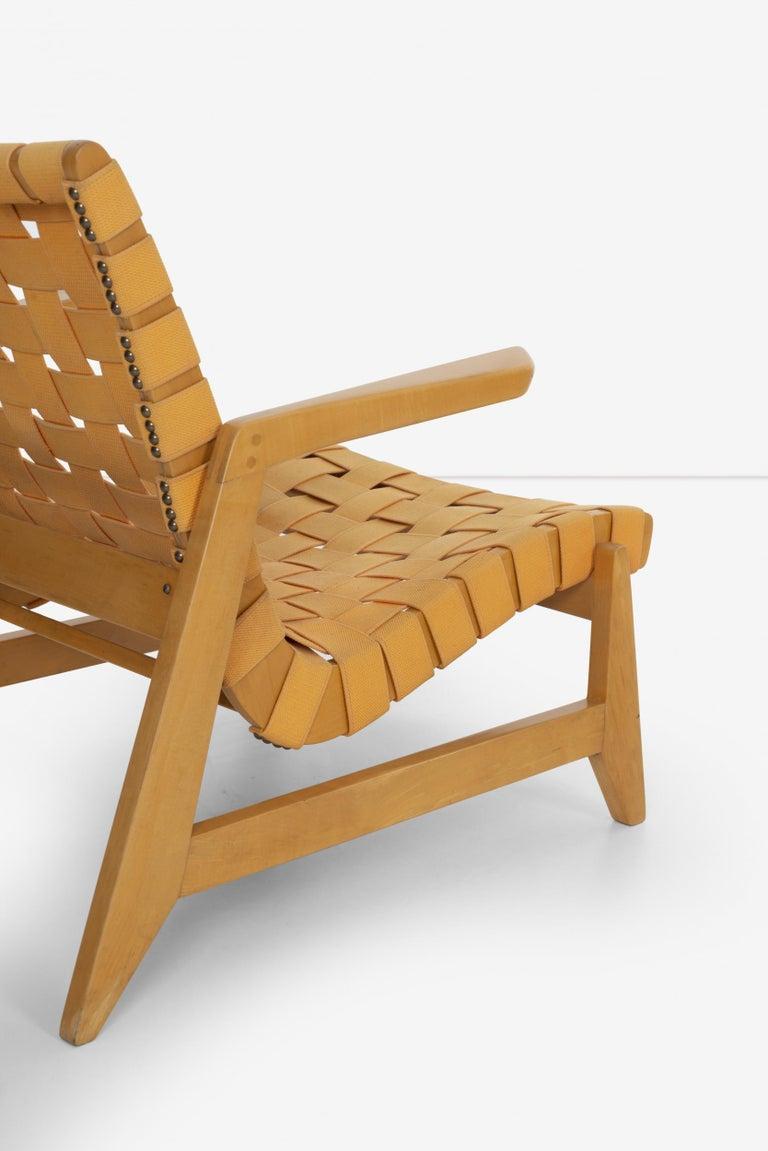 Pair of Rare Historical Original Ralph Rapson Greenbelt Lounge Chairs 1945 For Sale 4