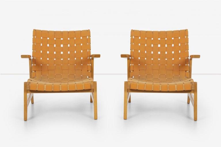 Mid-Century Modern Pair of Rare Historical Original Ralph Rapson Greenbelt Lounge Chairs 1945 For Sale