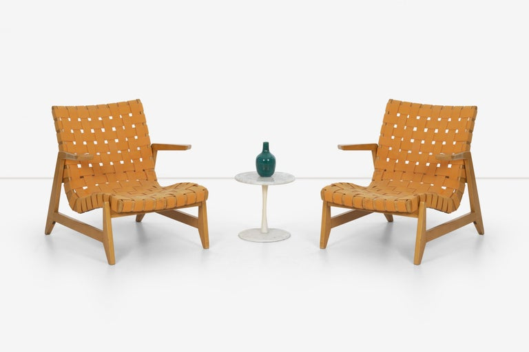 Pair of Rare Historical Original Ralph Rapson Greenbelt Lounge Chairs 1945 For Sale 2
