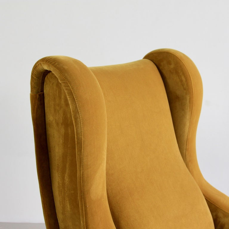 Pair of Senior chairs, designed by Marco Zanuso. Italy, Arflex, 1951.