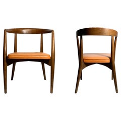 Pair of Original Vintage Lawrence Peabody Arm Chairs