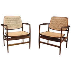 "Pair of ""Oscar"" Chair by Sergio Rodrigues"