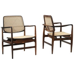 "Pair of ""Oscar"" Armchairs by Sergio Rodrigues, Brazilian Midcentury Design"