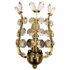 Pair of Oswald Haerdtl Sconces for Lobmeyr