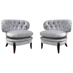 Pair of Otto Schulz Lounge Chairs